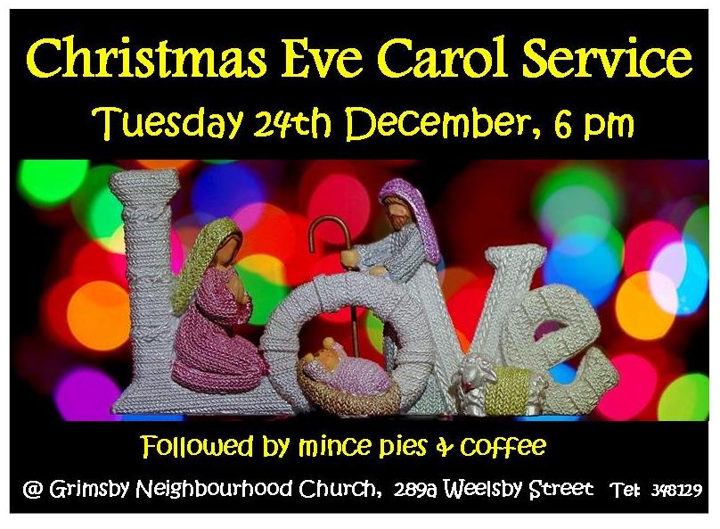 Christmas Eve Carol Service - Dec '19